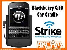 STRIKE ALPHA BLACKBERRY Q10 CAR CRADLE - BUILT-IN FAST CHARGER SECURE HOLD