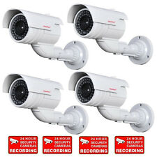 4 x Dummy Imitation Security Camera Fake Infrared Ir Led with Blinking Light C6B