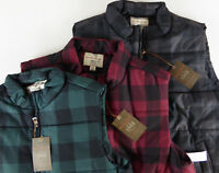 Original Weatherproof Vintage Buffalo Plaid Puffer Vest NWT $95  Black Red Green
