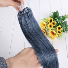 "100S/200S 16""-26"" Micro Loop 100% Remy Brazilian Human Hair Extensions Full Head"
