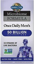 Garden Of Life Microbiome Once Daily Men's 30 capsules