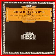 "WIENER STAATSOPER 1933 JERITZA URSULEAC GRAARUD KRAUSS KRIPS 12"" LP FOC (b878)"