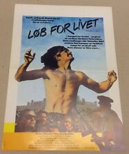 """The Jericho Mile"" Peter Strauss Richard Lawson 1979 Danish Press Release Kit"
