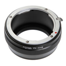 FOTGA Adapter for Pentax PK K Mount Lens to Canon EOS EF-M M2 M3 M6 M10 M50 M100