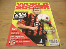 Football Magazine World Soccer February 2005 Sheva FC Porto Tevez Gullit Larsson