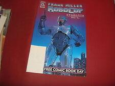 FRANK MILLER'S ROBOCOP / STARGATE SG-1  #1 FCBD Edition Avatar Comics 2003 NM-