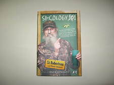 SI-COLOGY 101 BOOK - SI ROBERTSON BOOK - STAR OF DUCK DYNASTY ON A & E-HARD BACK
