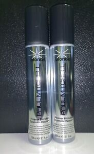 Paul Mitchell Forever Blonde Dramatic Repair 5.1 Fl Oz Each **2-Pack** NEW