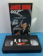 VHS CLASSIC JAMES BOND 007 COLLECTION VINTAGE - EL HOMBRE DE LA PISTOLA DE ORO