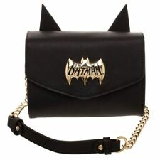 Official Licensed DC Comics Batman Logo Side Kick Cosplay Cross Body Bag