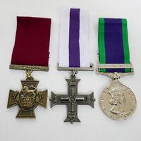 British Military Medals Victoria cross VC military cross MC Ireland GSM Repro