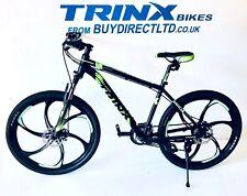 "TRINX Mountain bike 26"" magnesium wheels 24 shimano gears lockout fork 18 frame"