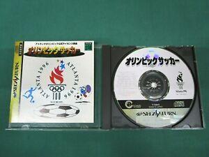 Sega Saturn -- Olympic Soccer -- *JAPAN GAME!!* SS. 16360