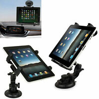 "Universal In Car Windscreen Suction Mount Holder For iPad Tablet 7"" To 11"""