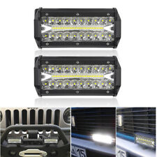 2PC 150W 7in LED Work Light Flood Spot Combo Bar SUV Truck 4WD ATV Off-Road Lamp