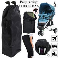 Pram Gate Check Pushchair Buggy Travel Bag Umbrella Stroller Waterproof Cover UK