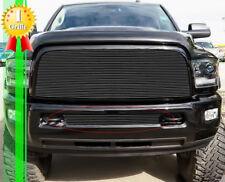 Fits 2013-2018 Ram 2500/3500 Black Lower Bumper Billet Grille Insert