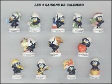 SERIE COMPLETE DE FEVES CALIMERO LES 4 SAISONS