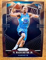 PJ Washington Jr. 2019-20 Panini Prizm Basketball Rookie #258 Hornets SP RC NBA