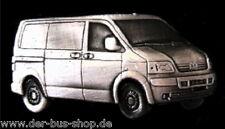 VW Bus T5 - Transporter - Pin / Anstecker Silber - NEU