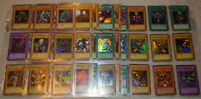 Complete LOB Legend Of The Blue Eyes White Dragon YuGiOh Card Set Rare Exodia!