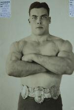 DAVE LEVIN 1936 World Wrestling Champion photo