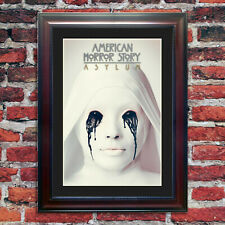 American Horror Story: Asylum Silver ***SPECIAL EDITION*** Framed Movie Poster