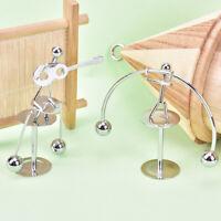 Pendulum Cradle Science Physics Balance Toy Stainless Steel Newton Educatio yi