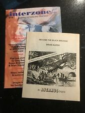 Interzone 38 - Brian Aldiss Special Issue with Free Avernus Booklet NEW !