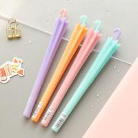 2Pcs Creative Umbrella Shape Black Ink Gel Pen Stationery School Office Supplies