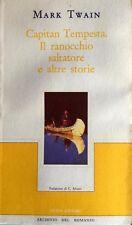 MARK TWAIN CAPITAN TEMPESTA, IL RANOCCHIO SALTATORE E ALTRE STORIE GUIDA 1984