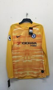 NIKE Chelsea FC Home Goalkeeper Jersey Mens Size L {R102}