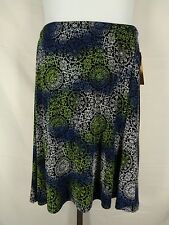 Coldwater Creek Slinky Travel Knit Stretch Skirt Size PL Petite Large New