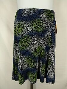 Coldwater Creek Skirt Size PL Petite Large Travel Knit Slinky Stretch New