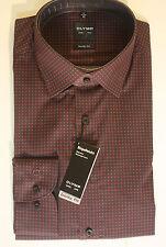 Olymp maschinenwäschegeeignete klassische Herrenhemden aus Baumwolle