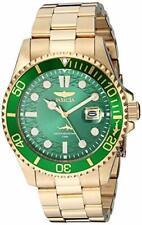 Invicta 30027 Men's Pro Diver Quartz Date Gold Stainless Steel Watch