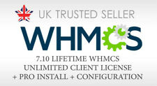 WHMCS Pro Installation + Lifetime WHMCS Unlimited Client License