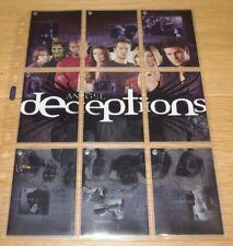ANGEL TVS SEASON 4 DECEPTION 9 CARD CHASE SET - D1 D2 D3 D4 D5 D6 D7 D8 D9