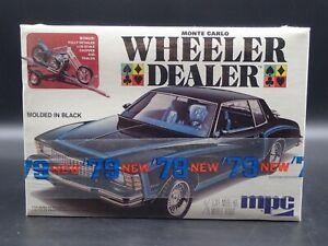 1979 MONTE CARLO WHEELER DEALER MPC 1:25 SCALE VINTAGE SEALED PLASTIC MODEL KIT