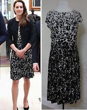 Tory Burch SOPHIA Matte Crewneck Dress Size S BNWT RRP £345
