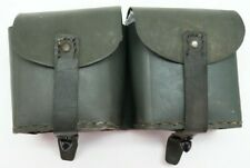 WWII Italian M1891 M38 Carcano Rifle Leather Ammo Pouch each E9474