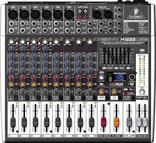 Behringer Xenyx X1222USB 16-Input 2-Bus USB Mixer w/ Effects & Mic Preamp