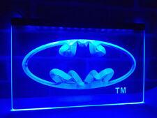 Batman Super Hero LED Neon Light Sign Plate Flag Bar Club Pub Decor Advertise