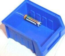 30 SIZE 1 BLUE PARTS STORAGE STACKING BIN BINS BOX
