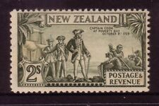 NEW ZEALAND....  1935 pictorial  2s capt cook mnh, perf 12½