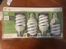 Ecosmart 4 pack  soft white 60 watt