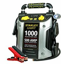 500 Amps Jump starter with 120 PSI Air Compressor & Backlight Gauge