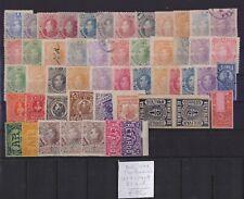 ! Colombia Bolivar 1879-1904. Lot Of 51 Stamp. YT#. €85.00 !