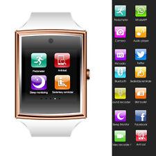 Waterproof Bluetooth Smart Wrist Watch SIM Phone Android Men Women Girls Boys