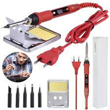 LCD Soldador De Estaño Electrico Profesional 80W 180-500℃ Temperatura Ajustable